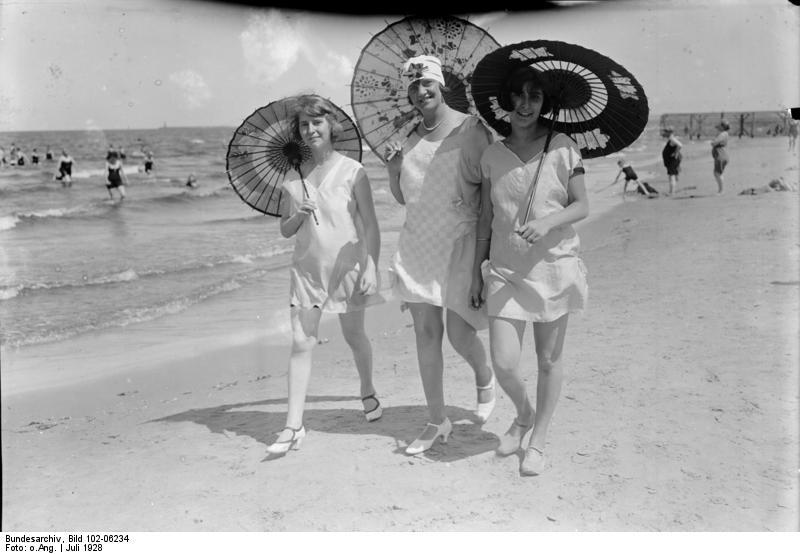 Badefreuden am Strand