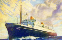 80 lat temu zwodowano polski transatlantyk MS