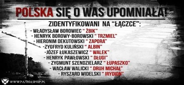 Łupaszka i Zapora wśród kolejnych ofiar zidentyfikowanych przez IPN na Łączce