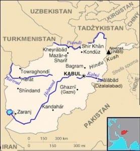 Afganistan / Źródło: Wikipedia