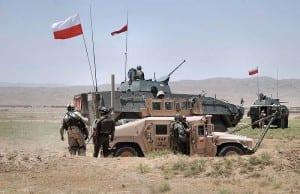 Polski Kontyngent Wojskowy w ramach sił ISAF / Źródło: Wikipedia