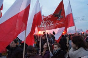 """TG """"Sokół"""" Lublin na Marszu Niepodległości 2012"""