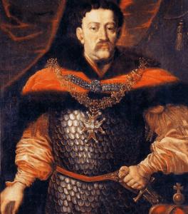 Jan III Sobieski z Orderem Świętego Ducha