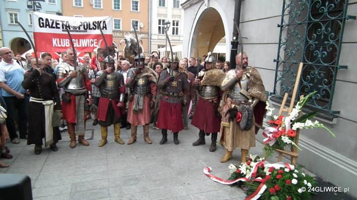 Husarskie upamiętnienie 330-lecia Wiktorii Wiedeńskiej w Gliwicach