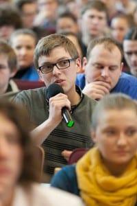 Piotr Celiński - twórca akcji Stop czerwonym zbrodniarzom na maturze Piotr Celiński - twórca akcji Stop czerwonym zbrodniarzom na maturze