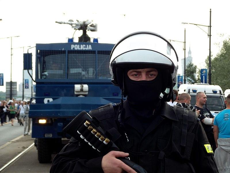 Pobicie kibiców Wisły Płock przez kielecką policję
