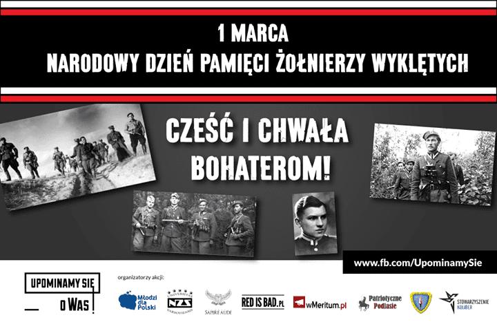 Narodowy Dzień Pamięci Żołnierzy Wyklętych!
