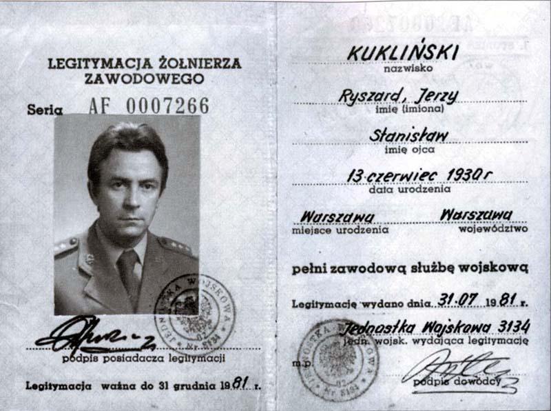 Płk Ryszard Kukliński i jego genealogia