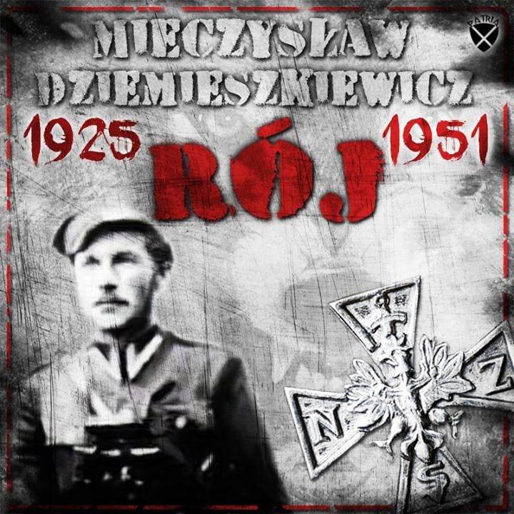 """Rocznica śmierci Mieczysława Dziemieszkiewicza ps. """"Rój"""