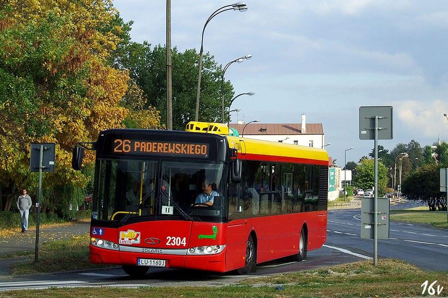 Prototyp elektrycznego autobusu z Lublina