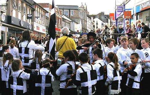 Kornwalijczycy nową mniejszością narodową na Wyspach