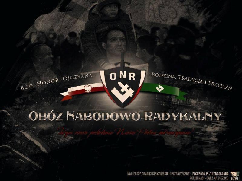 Nękanie warszawskich narodowców w 80. rocznicę utworzenia ONR