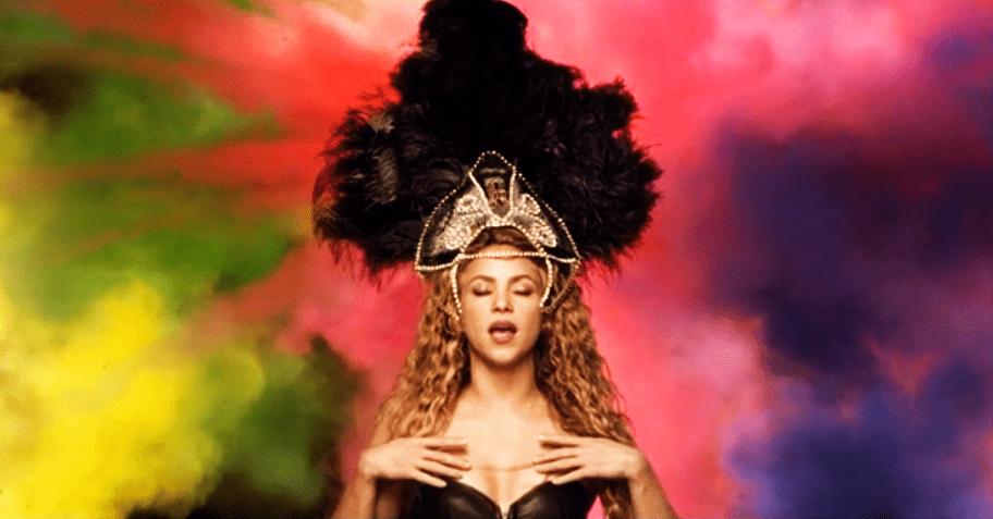 Shakira prezentuje klip na mundial