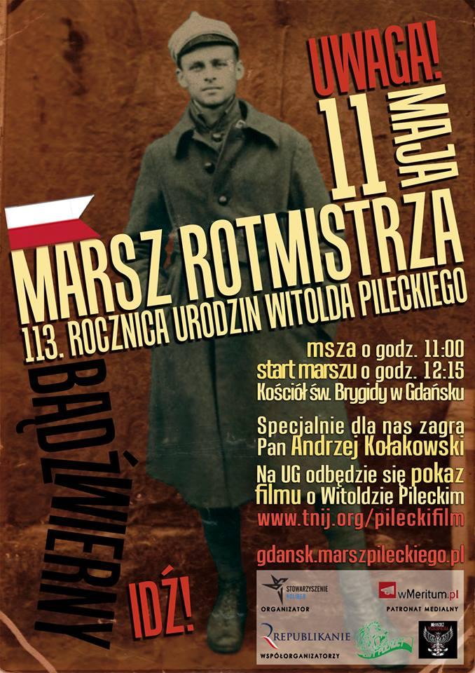 Gdańsk: Marsz Rotmistrza Pileckiego