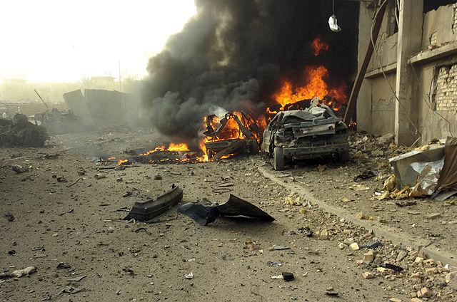 Znalezione obrazy dla zapytania irak wojna