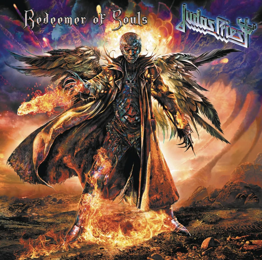 Judas Priest Redeemer standard album cover