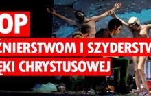Protest jaki wystosowało Towarzystwo  Gimnastyczne Sokół w Lublinie w związku z planowaną projekcją  spektaklu Golgota Picnic w lubelskim Centrum Kultury