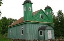 Meczet w Kruszynianach zdewastowany