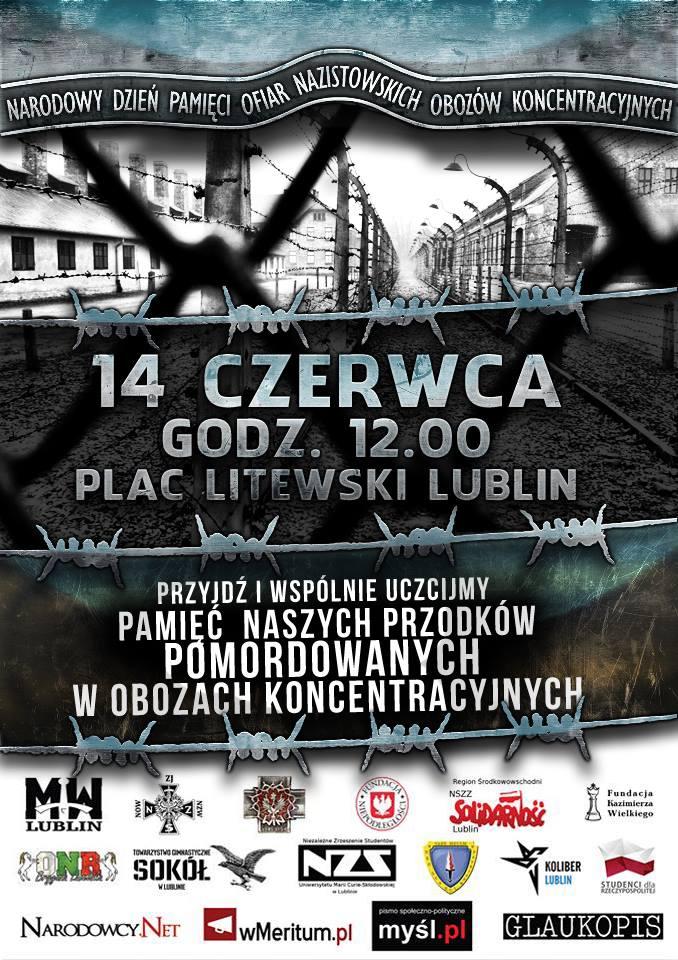 Lublin: Narodowy Dzień Pamięci Ofiar Nazistowskich Obozów Koncentracyjnych