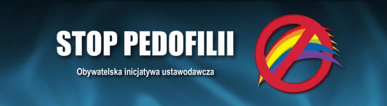 Stop pedofilii - obywatelska inicjatywa ustawodawcza