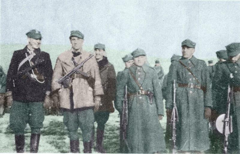zołnierze Żbika