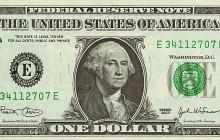 Dolar najdroższy od roku