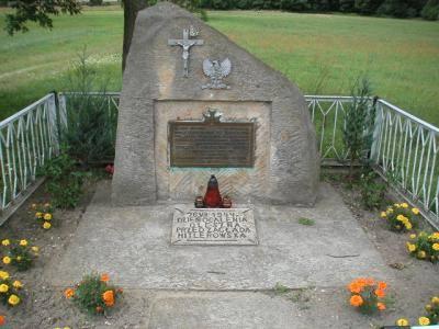 pomnik Oleszno