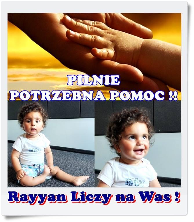Rayyan przypomina o tym, że wciąż potrzebuje pomocy