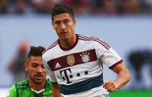 Lewandowski coraz lepiej gra w systemie Bayernu!