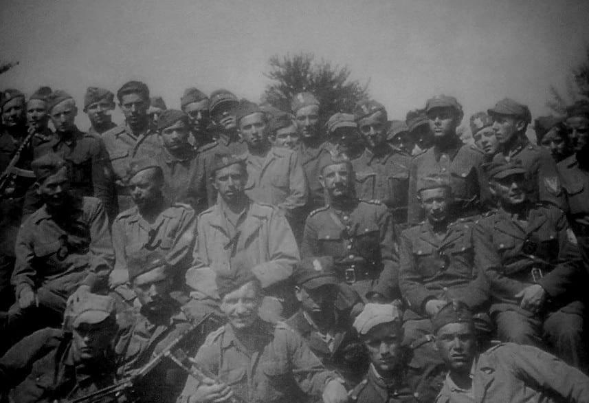 Oficerowie Brygady Świętokrzyskiej