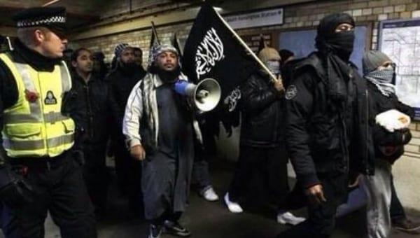 muzułmanie w londynie twitter