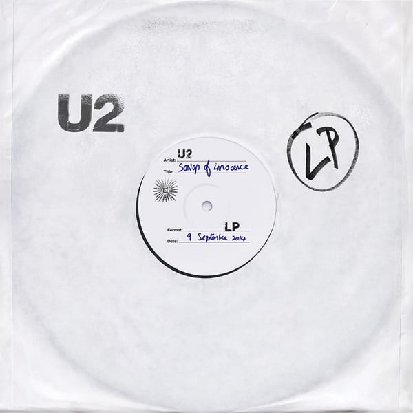 U2 songs of innocence cover