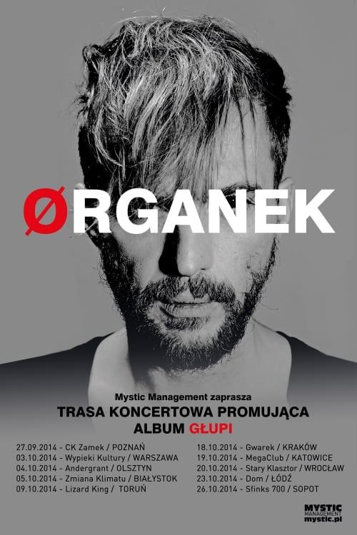 Organek rusza w trasę koncertową