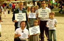 Zatrzymać rzeź chrześcijan - chcą zwrócić uwagę świata akcją społeczną [WIDEO]