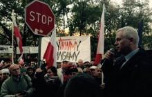Protest przed siedzibą KRRiT. Zgromadzeni nie chcieli homo-spotu w TVP