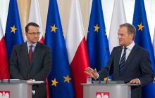 Tusk w TOK FM: Propozycja rozbioru Ukrainy nie padła