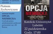 Lublin: Piotr Zychowicz i