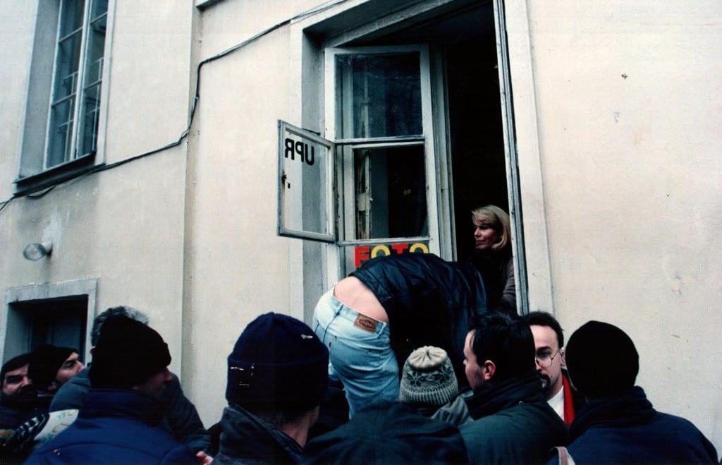 Szturm na siedzibę Unii Polityki Realnej, 16 grudnia 1995