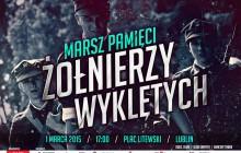 Lublin: Marsz Pamięci Żołnierzy Wyklętych i koncert Tadka [WIDEO]