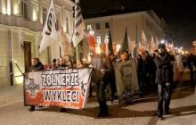 Przez Kielce przeszedł Marsz Pamięci Żołnierzy Wyklętych [FOTORELACJA]
