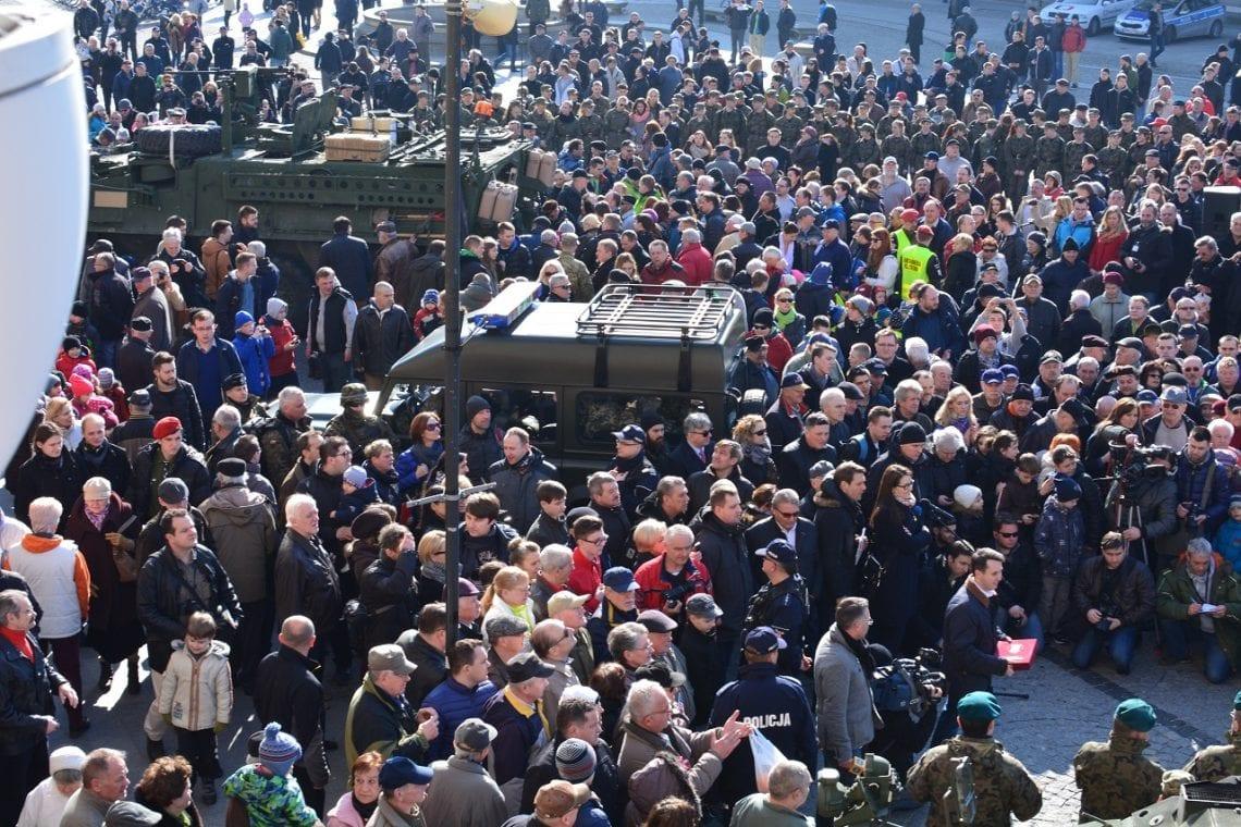 В Польшу прибыла колонна американской бронетехники Dragoon Ride - Цензор.НЕТ 8254
