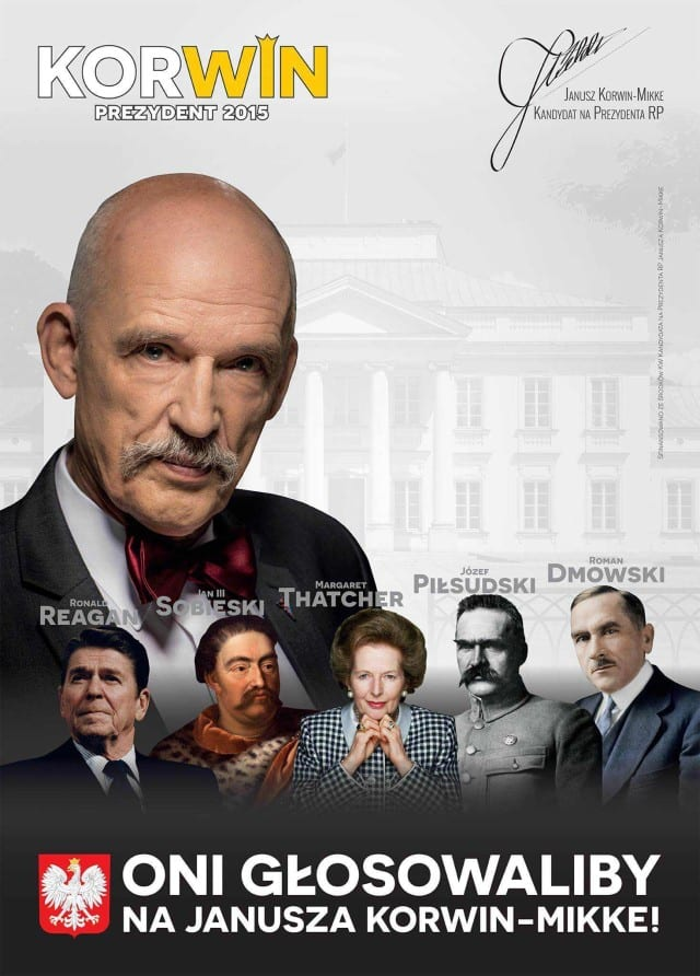 Rozpoczęła się kampania billboardowa Janusza Korwin-Mikkego