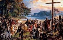 Chrzest Mieszka I - początek polskiej państwowości