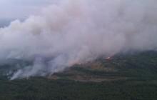 Duży pożar w okolicach Czarnobyla