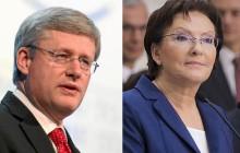 Ewa Kopacz ujawniła tajne plany premiera Kanady