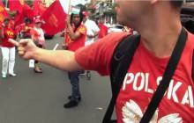 Polski podróżnik spotyka komunistów. Zobacz reakcję [WIDEO]