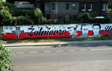 Nowa Ruda: Mural w hołdzie Żołnierzom Wyklętym [ZDJĘCIA]
