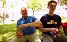 Marian Kowalski w reklamie energy drinka KORWIN. Zapowiedź współpracy z partią Korwin-Mikkego? [WIDEO]