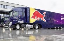 Ciężarówki Renault serii T dla teamu Red Bull Racing