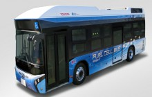 Toyota testuje w Tokio autobus napędzany wodorem